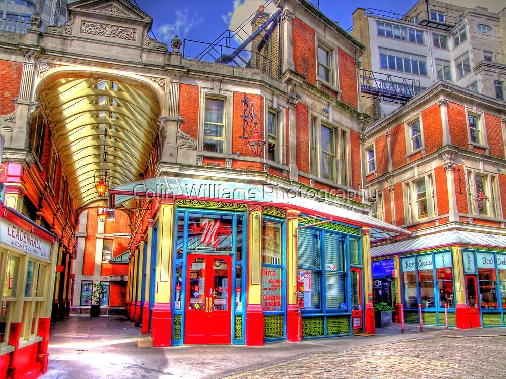 "The ""M"" Bar - Leadenhall Market Series -  London - HDR by Colin  Williams Photography"