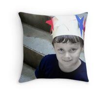 King of Independance  Throw Pillow