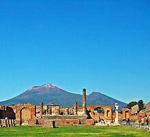 Pompeii & Vesuvius VII by Al Bourassa