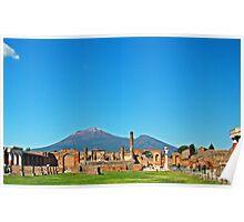 Pompeii & Vesuvius VII Poster
