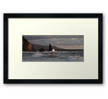 Sunset On Cabot Trail  Framed Print