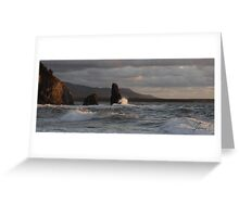 Sunset On Cabot Trail  Greeting Card