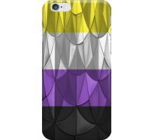 Geometric Nonbinary Pride iPhone Case/Skin