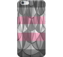 Geometric Demigirl Pride iPhone Case/Skin