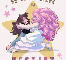 "Greg Universe & Rose Quartz Dancing from Steven Universe ""Destiny"" version by livielightyear"