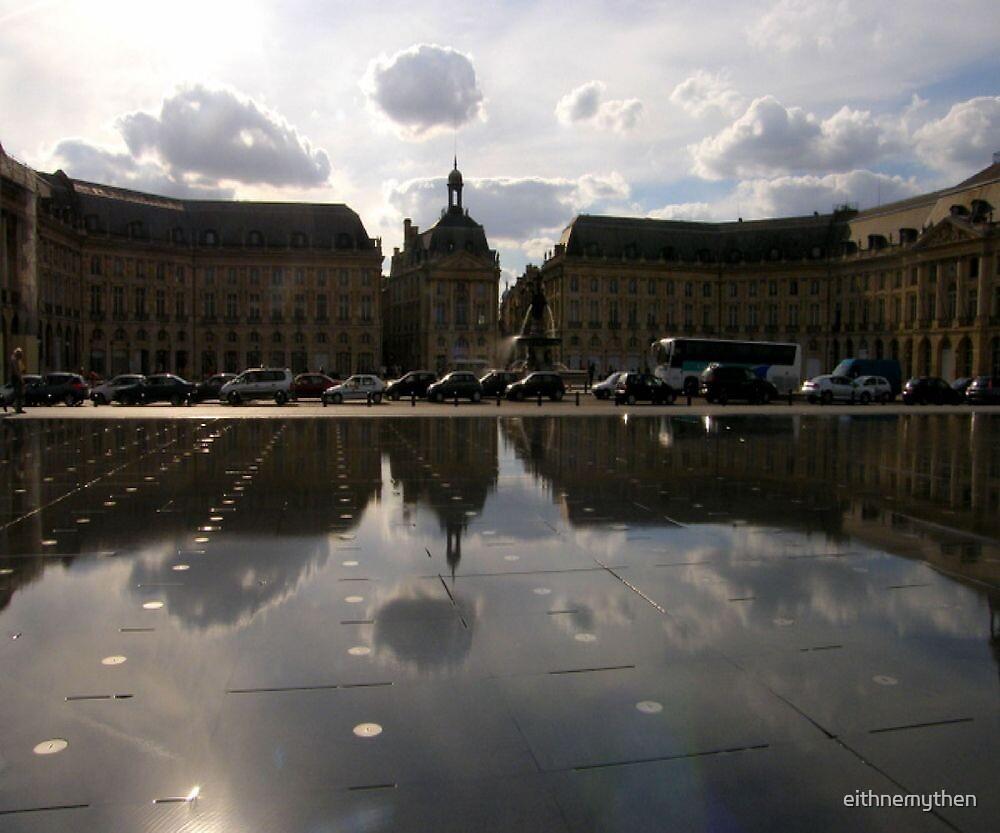 """The fabulous """"Miroir D'eau"""", Bordeaux by eithnemythen"""