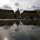 "The fabulous ""Miroir D'eau"", Bordeaux by eithnemythen"