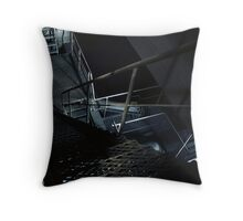 2.10.2010: Fear of Heigths Throw Pillow