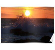 Sunset Westcoast Poster