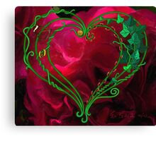 My Imperfect Heart Canvas Print