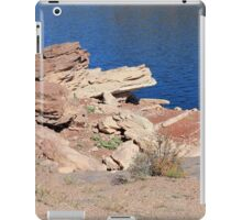 Flaming Rocks iPad Case/Skin