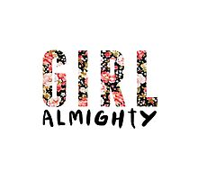 girl almighty - floral by aprilbritt