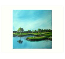 The 17th Hole Art Print