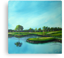 The 17th Hole Canvas Print