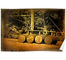 THE MAST AND THE BARRELS Poster