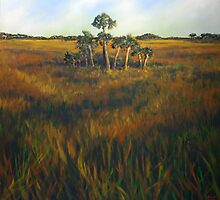 Ten Palms by Nancy  Asbell