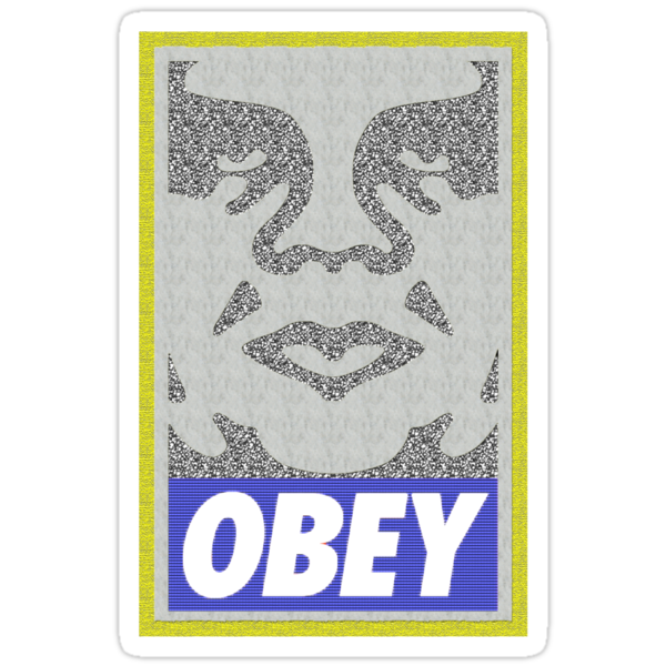 Obey Fairey by stoopidstu