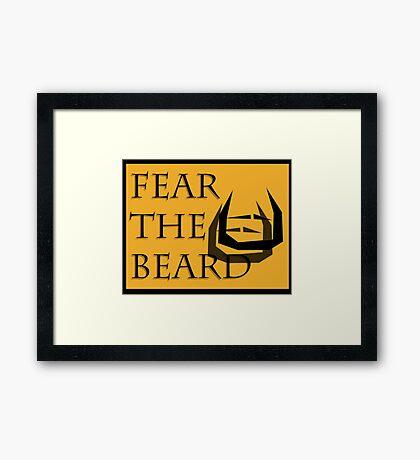 Fear The Bread Framed Print
