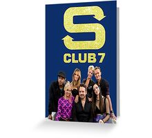 S Club 7 2015 Greeting Card