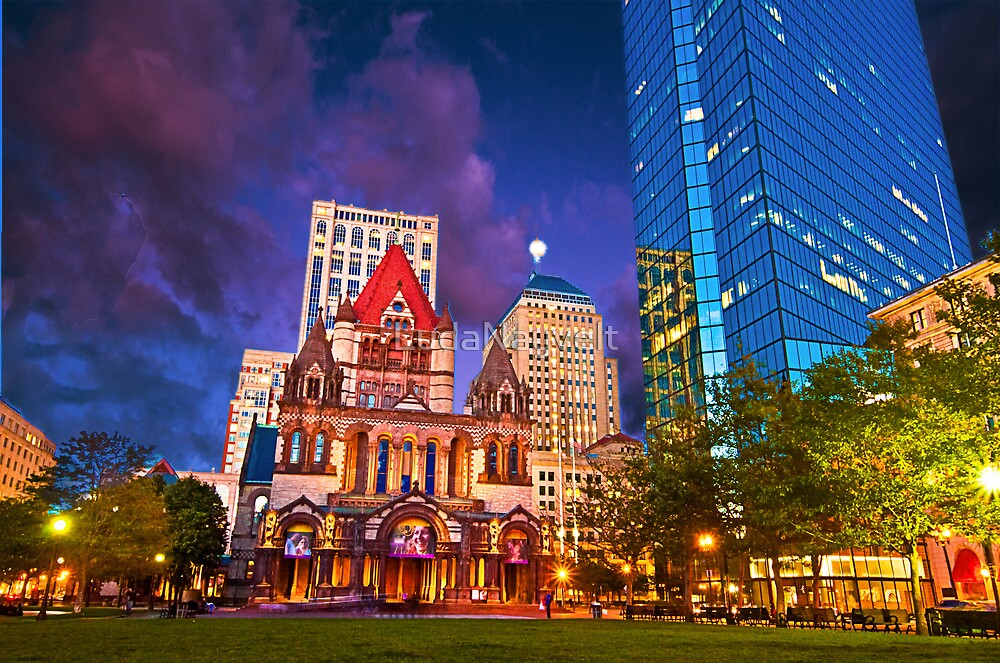 Trinity Church, Boston, MA by LudaNayvelt