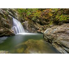 Bingham Falls - Wide View - HDR Photographic Print
