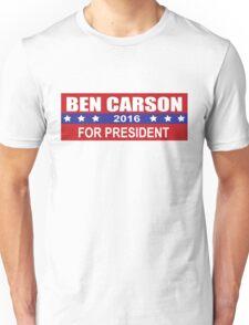 Ben Carson 2016 for President Election Sticker, Shirt, Cases, Skins Unisex T-Shirt