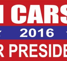 Ben Carson 2016 for President Election Sticker, Shirt, Cases, Skins Sticker