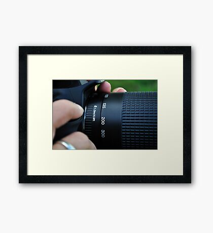 Photography in Focus Framed Print