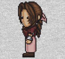 Aerith Pixelart Kids Clothes