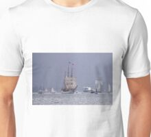 Sailing in the Rain Unisex T-Shirt