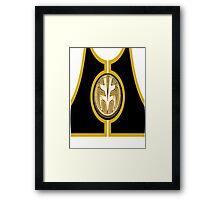 White Ranger (Mighty Morphin Power Rangers) Framed Print