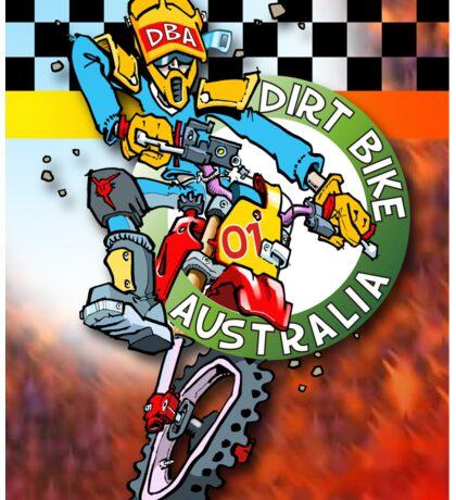 Dirt Bike Australia Hot Stuff T-Shirt Sticker