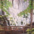 Ramona Falls on Mt Hood by Teresa Dominici