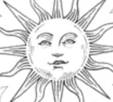 Tumblr Inspired Sun Logo Sticker