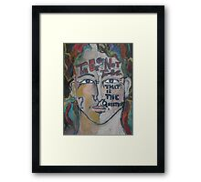 To be or not to be that is the question Framed Print