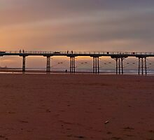 Saltburn Sunset by Phil-Edwards