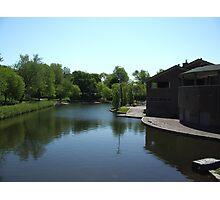 Parc La Fontaine Photographic Print