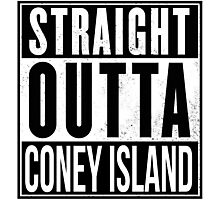 STRAIGHT OUTTA CONEY Photographic Print