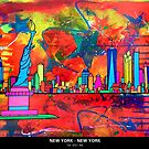 New York New York by thespiltink
