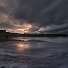 Sunset at Eyemouth, Scotland by Nigel Bangert
