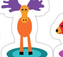 canadian animals Sticker