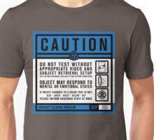 SCP 093 Warning Sign Unisex T-Shirt