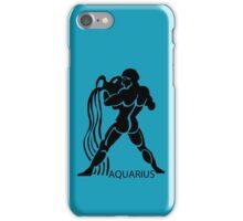 Zodiac sign - Aquarius iPhone Case/Skin