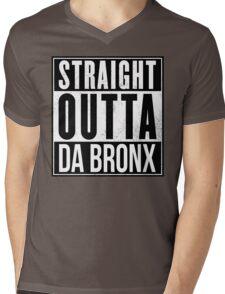 STRAIGHT OUTTA DA BRONX Mens V-Neck T-Shirt