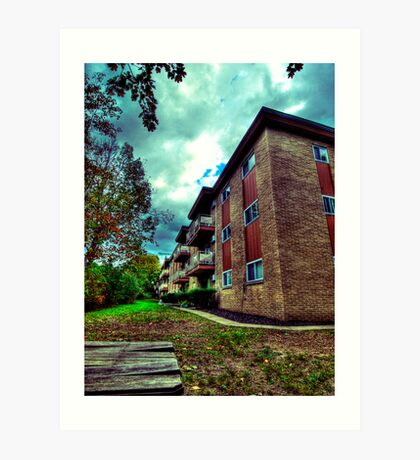 Park Apartments Art Print