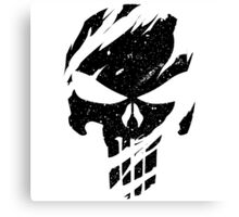 Faded Punisher Canvas Print