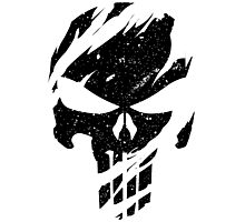 Faded Punisher Photographic Print