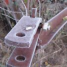 Frosted Rusty Equipment by Christopher Clark