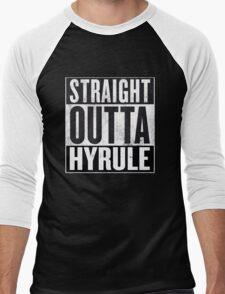 Straight Outta Hyrule Men's Baseball ¾ T-Shirt