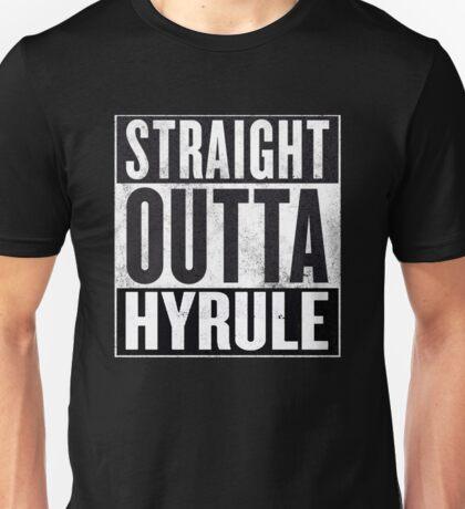 Straight Outta Hyrule Unisex T-Shirt